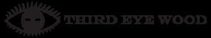 third eye wood black logo